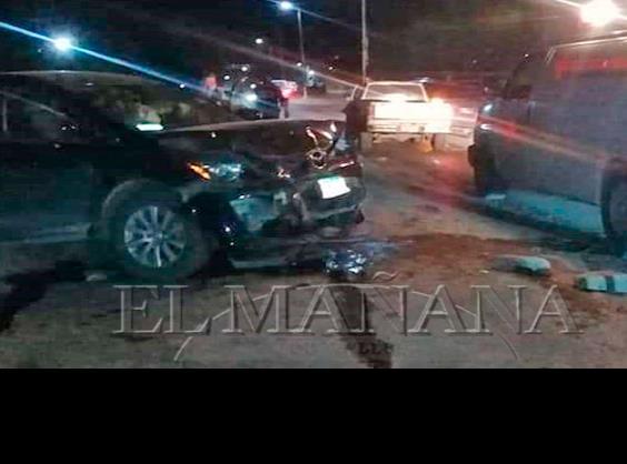 2 heridos dejó fuerte choque: En Tamuín: