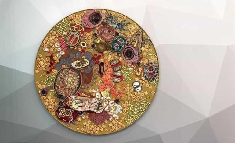 Bacterias mortales hechas arte en un museo de EEUU