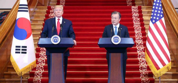 Trump se reunirá con Kim Jong-un en la frontera intercoreana