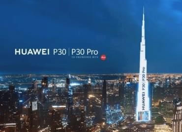 Tiene Huawei la más innovadora y costosa publicidad