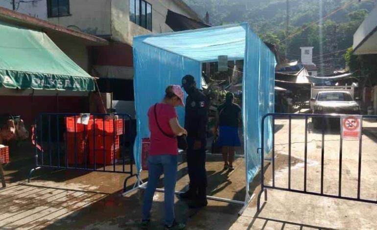 Filtro sanitizante instaló Municipio