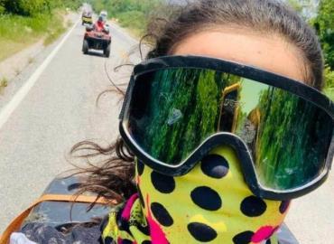 Ruta motorizada sin plan sanitario