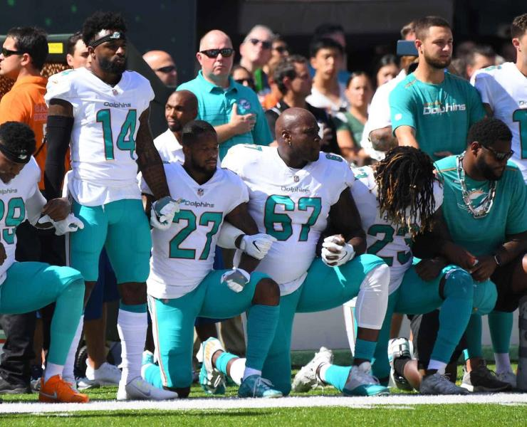 La NFL y MLS desafían a Trump