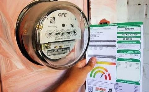Frente común para bajar tarifa de CFE