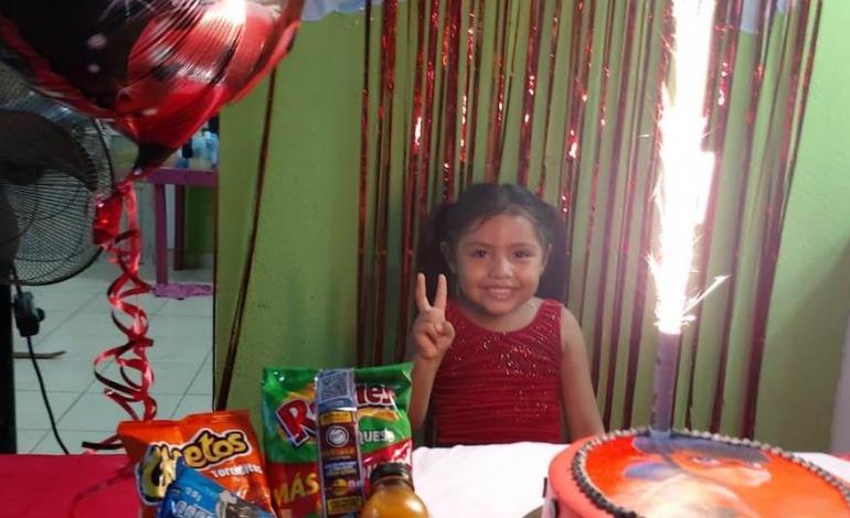 Cinco años de Ángela Romina