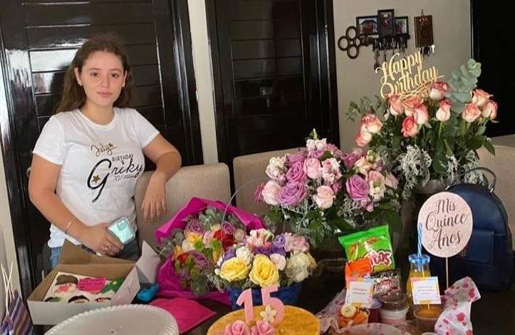 Festejó en familia Griselda Ollervides