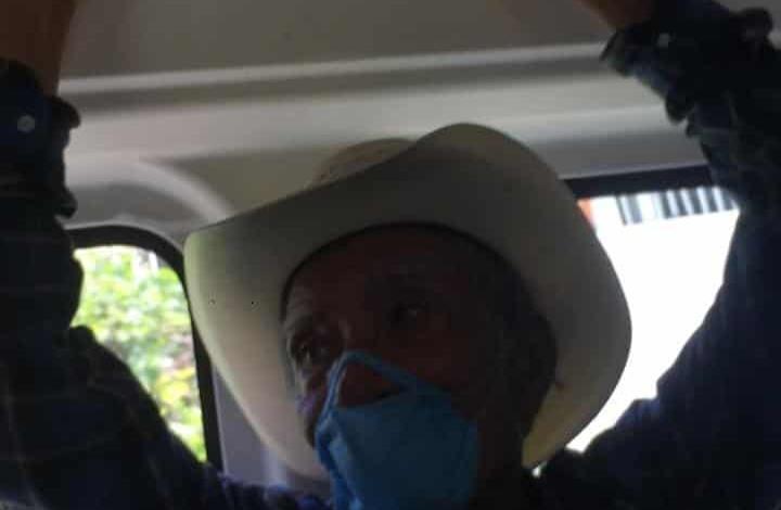 Enfermos viajan en transporte público