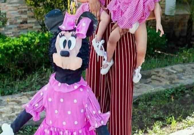 Fiesta de Minnie Mouse para Aylin y Ariadna