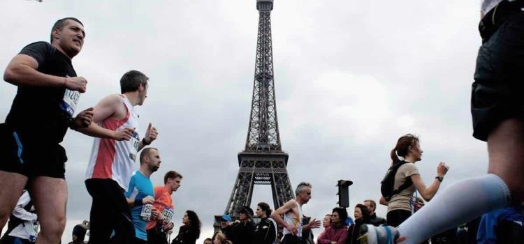 Cancelan maratón de París