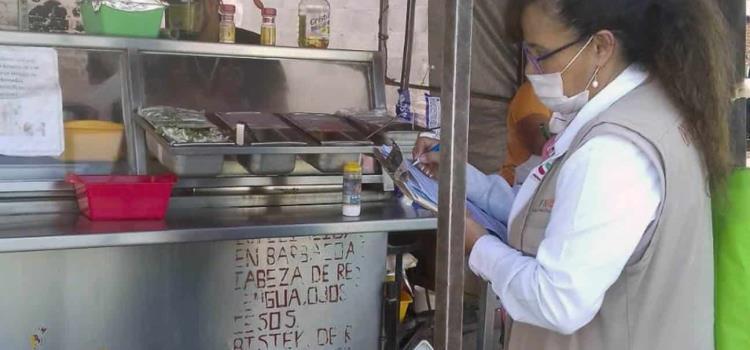 Estricta vigilancia a venta de alimentos