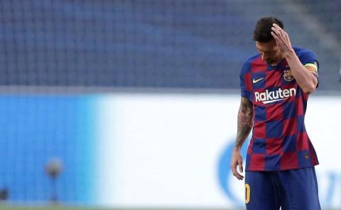 Messi pide una reunión para pactar su salida