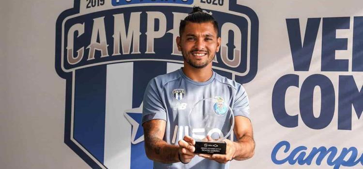 'Tecatito' el MVP de la Liga de Portugal