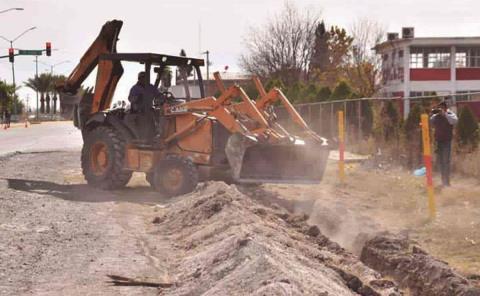 Paran obras a municipios