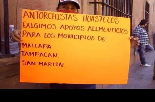 Huastecos solicitaron apoyos a Gobernador