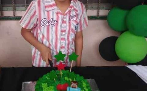 Fiesta de Minecraft para Pedro Daniel
