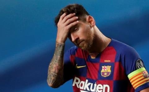 Messi no descarta posibilidad seguir en el Barcelona