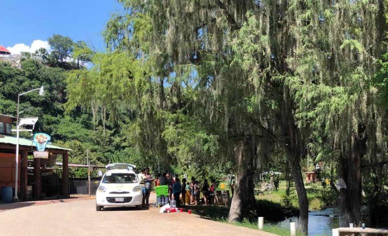Turistas vuelven a visitar parajes