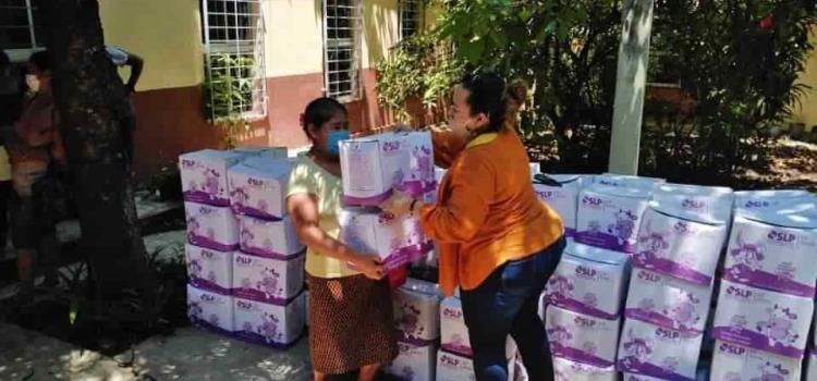 DIF Municipal entregó Desayunos Calientes