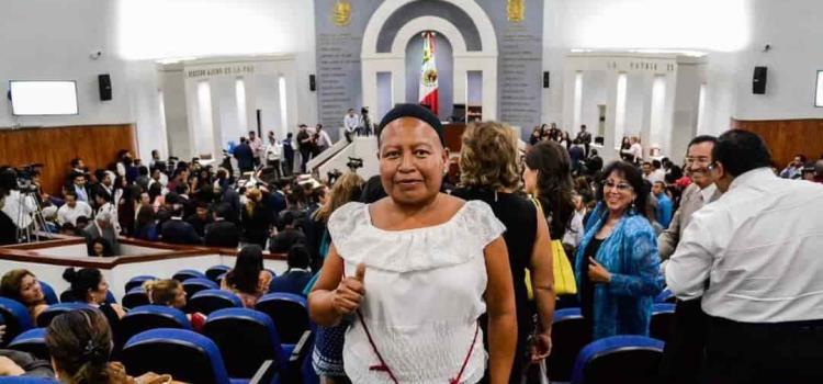 Estoy orgullosa de ser mujer indígena