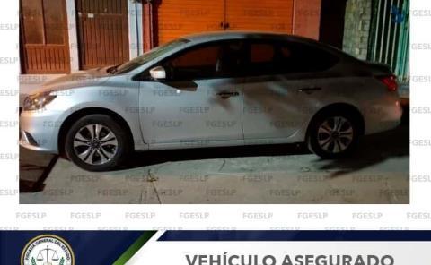 Hallaron en Valles auto robado en SLP