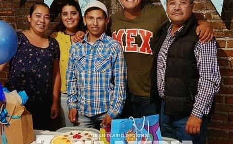 Festejaron su fecha a Luis Alberto Netro