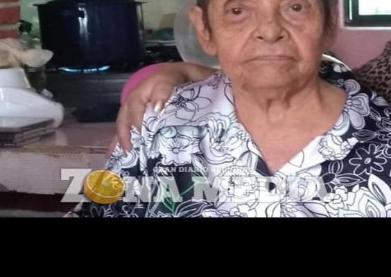 85 años cumplió la señora Rosa