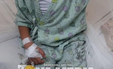 Niños con dengue