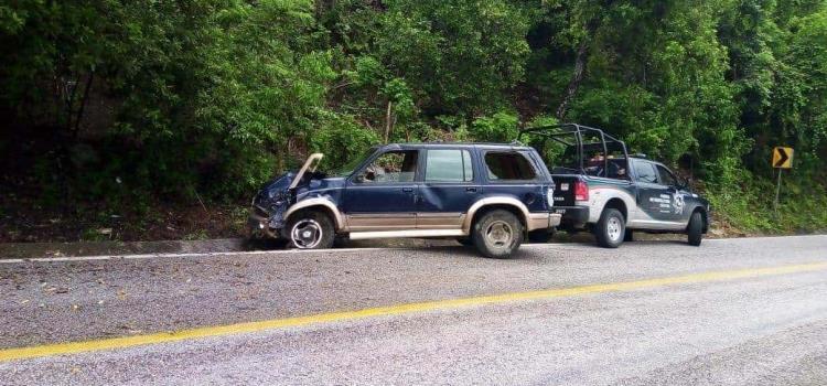 Volcó vehículo en la México-Laredo