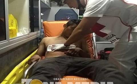 Jovencito drogadicto apuñalado en ejido