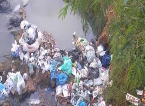 Recolectaron basura de un arroyo principal