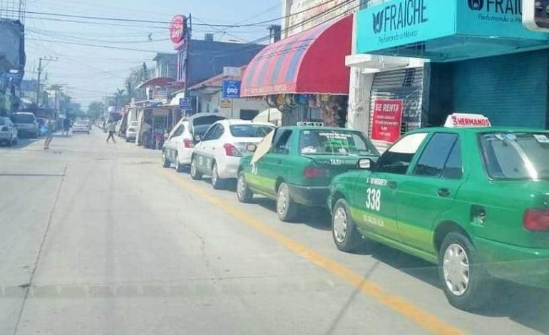 Pondrán ´en orden´ rampas de taxistas
