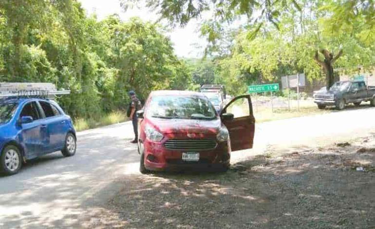 Vehículos se impactaron en el tramo Palicta