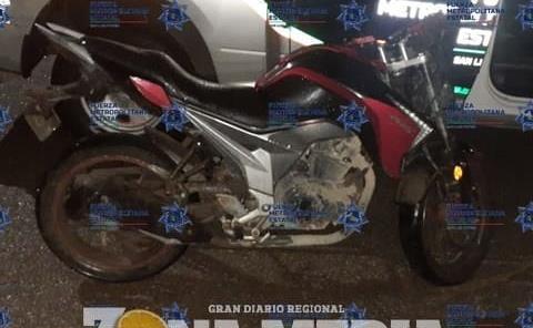 Motociclistas ebrios acabaron detenidos