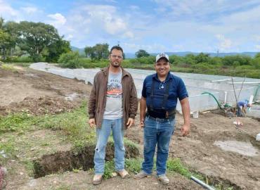 Avances en trabajos de proyecto acuícola