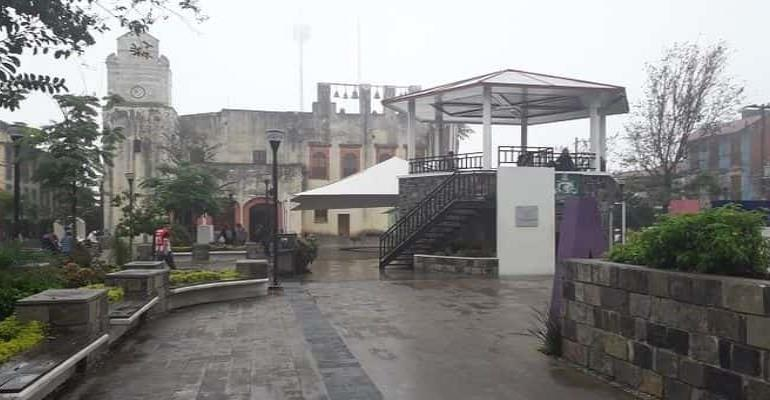 Justifican atrasos de obras por lluvia