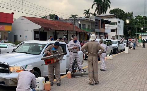Intensifican lucha contra el dengue