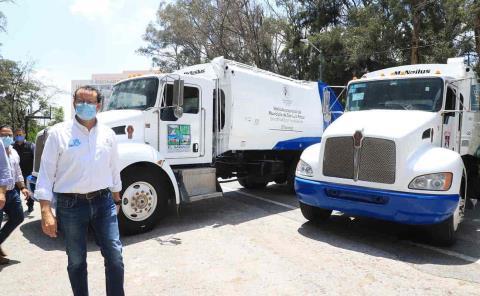Gobierno capitalino apoya a municipios