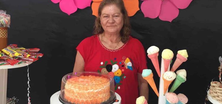 Teodora Azuara muy bendecida y amada