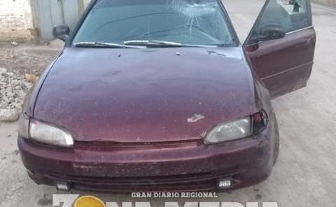 HERIDO A PEDRADAS