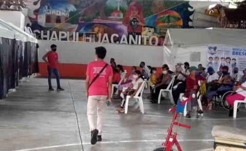 Realizaron brigada médica en Chapu
