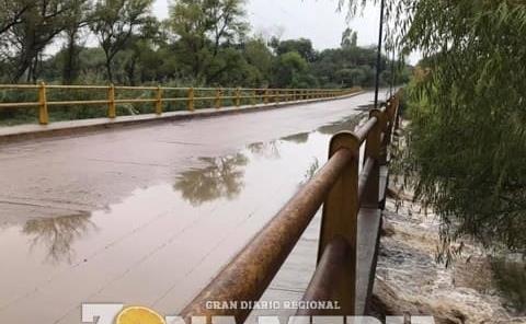 PC alertó por la crecida de ríos