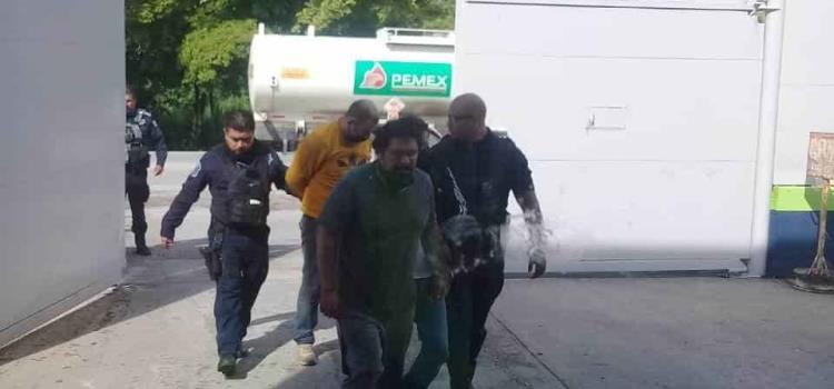 POLICÍAS ROBARON CAJERO