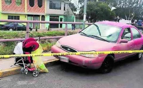 Veloz conductora mató a un bebé