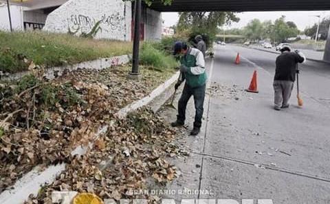 Limpieza en el 'Río Santiago'