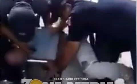 POLICÍAS ARROLLARON  A JOVEN SANCIRENSE