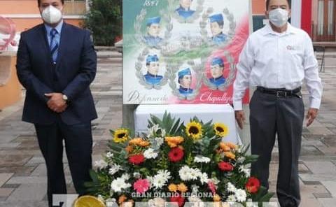 Ramón Torres G. conmemoró acto