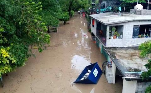 65 viviendas afectadas en Tamazunchale