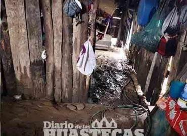 Familia perdió su vivienda