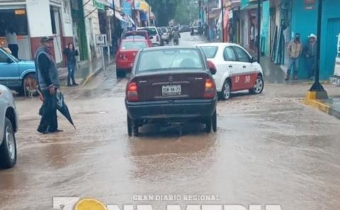 Necesario drenaje pluvial en avenidas