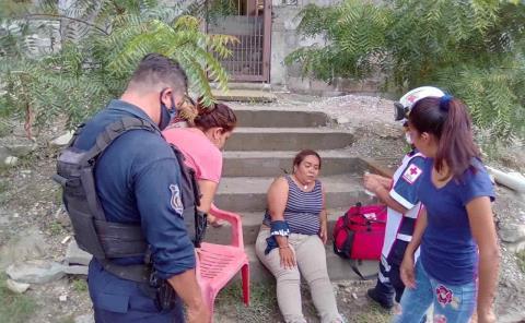 Dos mujeres heridas a machetazos y pedradas